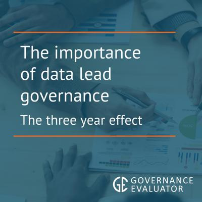 Cover art for The Importance of data led Governance - The 3-Year effect