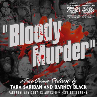 Nominated for 4 Australian Podcast Awards, including 2019 Best Independent True Crime. Barney Black and Tara Sariban discuss the dark details of lesser know true crime stories from Australia and around the world. As avid listeners of true crime podcasts they aim to add to the conversation by talking about murders that haven't been done to death on other shows. Their humour comes from some rather unusual places but never at the expense of the victims or their families.