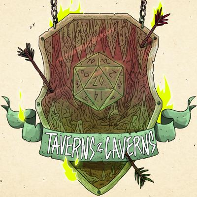 Taverns & Caverns is a D&D 5e actual play podcast where the rules are made up (at times) and the HP doesn't matter (actually, it does)! The campaign takes place in the totally made up world of Reverie. Come listen to our players Felicia, Rob, Bryania, and Julian as they attempt to survive in the crazy world provided to them by our DM Rhyan!