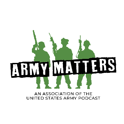 A rotating cast of hosts covers topics of importance to the Total Army community including Soldiers, military families and Army supporters. Keep it locked here for all Army Matters. Brought to you by AUSA, the U.S. Army's professional association - voice for the Army and support for the Soldiers.