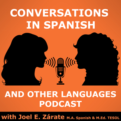 Listen to conversations in Spanish and Other Languages and learn Spanish through my conversations with  native speakers of Spanish, French, Italian, Portuguese and English.