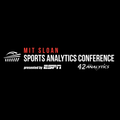 The official podcast channel of the MIT Sloan Sports Analytics Conference