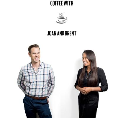 Coffee with Joan and Brent