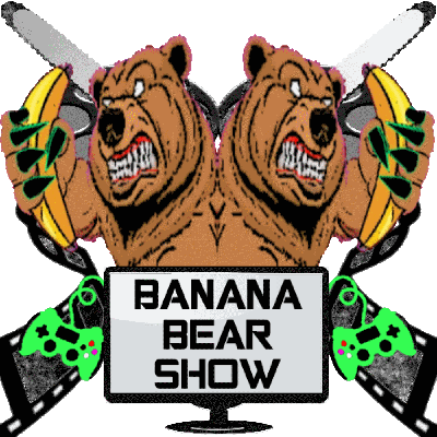 This is a show about entertainment news for movies, tv shows, comics, games, and the random movie review.  We are the live action Aqua Teen Hunger Force but with a bear, a banana, and the generic host.