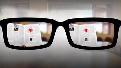 Cover art for Autofocusing reading glasses of the future | Nitish Padmanaban