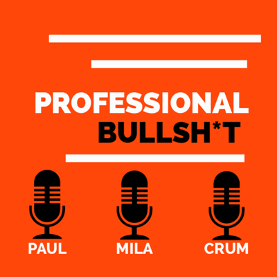 Three hosts. Two female. One male. This podcast is a young