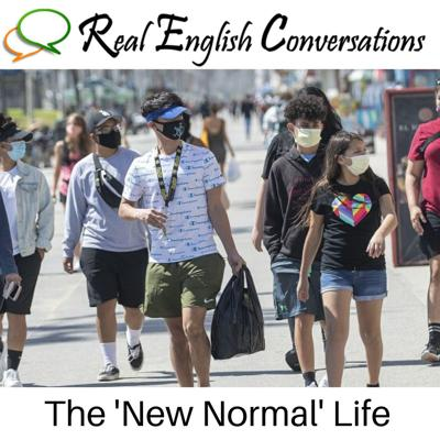 Cover art for English Lesson (54): The 'New Normal' Life | American English Conversation