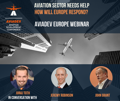 Cover art for Episode 66: Aviation sector needs help. How will Europe respond?