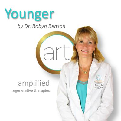 Welcome to Younger, The Art and Science of Youthful Aging where you'll learn the latest cutting-edge strategies for natural regenerative ways to reverse aging from top health experts worldwide.  My show is all about looking and feeling younger every day using non-toxic solutions that tap into your body's intelligence to regenerate.  I'm your host Dr. Robyn Benson - an expert in regenerative medicine and founder of ART - Amplified Regenerative Therapies at Santa Fe Soul Center for Optimal Health.