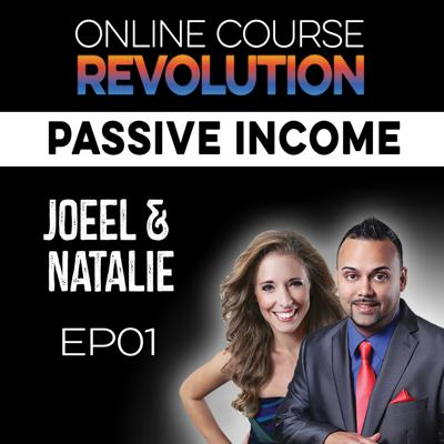 Cover art for Saved by Online Courses and Passive Income with Joeel and Natalie Rivera OCR EP1