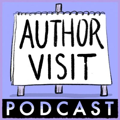 Cover art for 1. It's the Author Visit Podcast!