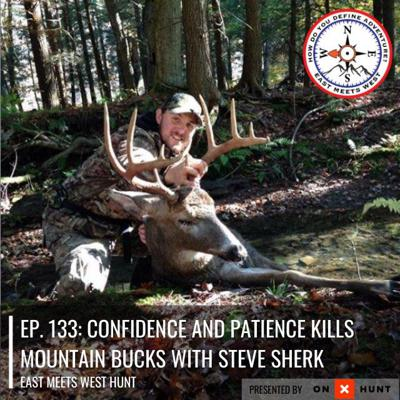 Cover art for Ep. 133: Confidence and Patience Kills Mountain Bucks with Steve Sherk // Sherk's Guide Service
