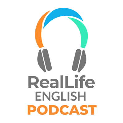 Learn vocabulary, grammar, expressions, and culture with fun and informal unscripted dialogues from your RealLife English Fluency Coaches.  Here's what other people have to say about the Real Life English Podcasts: