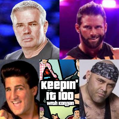 Cover art for Ep 207! More with Bischoff and Cardona!