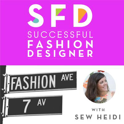 Cover art for SFD109 How to Get Your Designs into Production with The Chicago Patternmaker