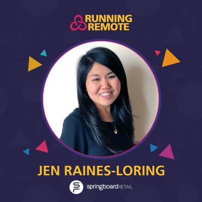 Cover art for Jennifer Raines Loring, VP of People, Springboard Retail