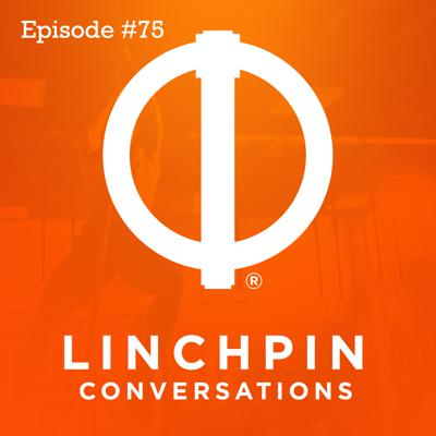 Cover art for Linchpin conversations #75