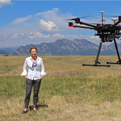 Cover art for Drones and Civil Engineering with Pioneer Mary Wohnrade