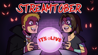 Cover art for Streamtober 2019 is a go!