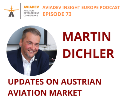 Cover art for Episode 73: Updates on Austrian Aviation Market with Martin Dichler