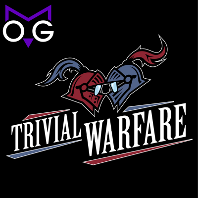 Trivial Warfare is the podcast that takes the pub quiz out of the pub and brings it home to you. Trivial Warfare is a weekly game shared by people all over the world that features all the same banter, jokes and fun that you share with your friends at your local quiz nights. TW is your gateway to a larger world of trivia and your invitation into an awesome community of people who love trivia games just as much as you do. Give the show a try and have fun with Jonathan, Chris, Carmela and Ben as they partner with guests just like you to battle for victory each week.