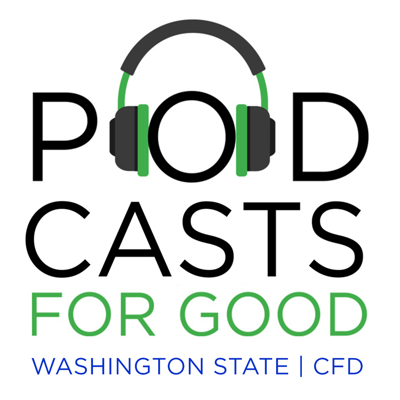The Washington State Combined Fund Drive is proud to present Podcasts for Good, a new format for donors, volunteers and charities to use to stay up-to-date with the CFD.  CFD Program Manager Philip Kerrigan and Fiscal and Policy Coordinator Heather Lucas serve as co-hosts.