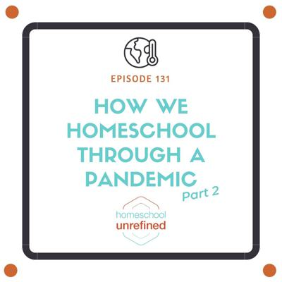 Cover art for 131: How We Homeschool Through A Pandemic, Part 2