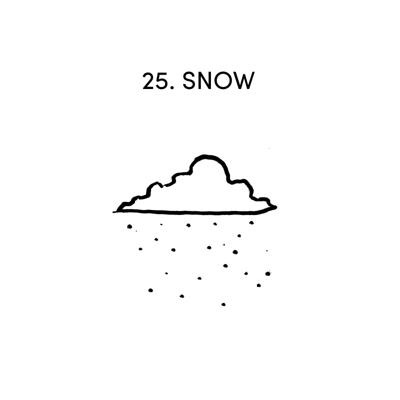 Cover art for 25 SNOW