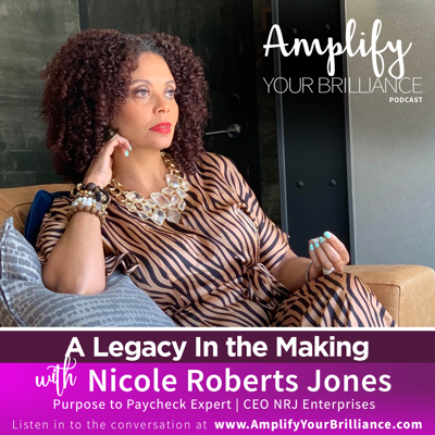 Cover art for S3E13: A Legacy In The Making with Nicole Roberts Jones