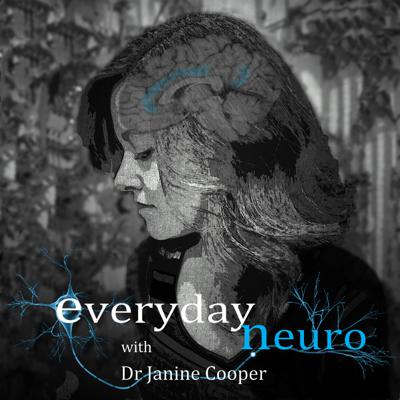 The Everyday Neuro podcast series with Dr Janine Cooper provides knowledge and inspiration to everyone and anyone interested in the fascinating fields of neuroscience, neuropsychology and the human brain.  Developed to incorporate information and interviews with experts in the field, the podcasts cover a diverse range of topics from memory and cognition to trauma, brain injury and wellbeing. Janine will guide you through the current research and help you to develop greater understanding of the human brain and its functions. Whether you already have experience, or want to start on your journey into understanding the human brain and how it affects our psychology and behaviour, then the Everyday Neuro podcast series has something to offer you.