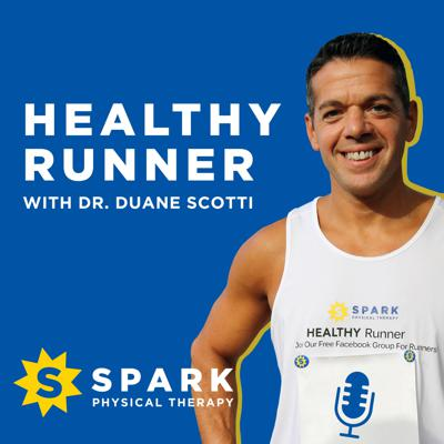 "Cover art for Run Stronger and Healthier Without Injuries ""SPARK Blueprint"""