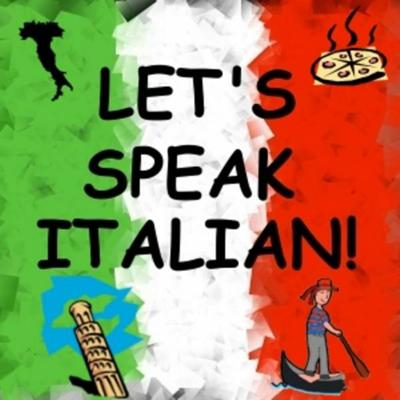 Your daily Italian language podcast where you will learn to speak Italian in just minutes a day.  We start from the very beginning and learn popular phrases, grammar, vocabulary, pronunciation, all in easy to digest lessons never more than 5 minutes in length, 5 days a week.  Subscribe, download, listen, and LET'S SPEAK ITALIAN!
