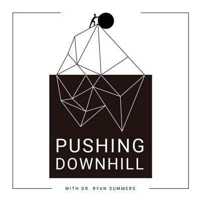 """""""Pushing Downhill"""" is a resource for those who live an active lifestyle. By speaking with experts and industry leaders, Dr. Ryan Summers will teach you how to optimize your training and lifestyle, allowing you to push downhill and create momentum towards reaching your goals. Borrow liberally, combine uniquely and PUSH DOWNHILL."""