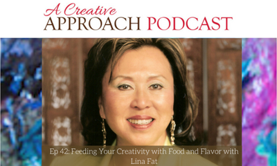 Cover art for 42: Feeding Your Creativity with Food and Flavor with Lina Fat
