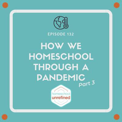 Cover art for 132: How We Homeschool Through a Pandemic, Part 3