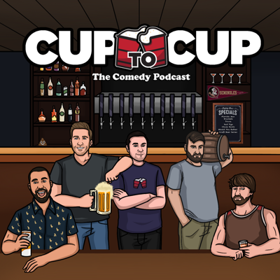 Some days you just need more from a podcast than dudes talking into the mic.  Cup to Cup is built around insane and passionate bracket tournaments covering topics like the best cereal or the best 80's action movie.  They give you a unique twist on Florida Man headlines, take part in ridiculous games with plenty of listener interactions and special guests, and a craft beer series.  You will yell, you will laugh and you might learn a few things.