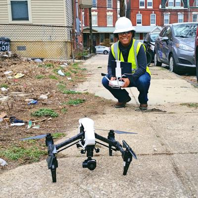 Cover art for Drones in the construction industry with Taylor Mitcham