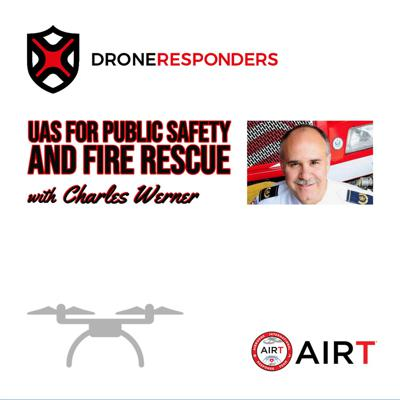 Cover art for Episode 003: Enhancing Safety with Drones with Christopher Sadler