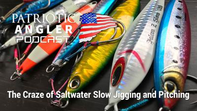 Cover art for The Craze of Saltwater Slow Jigging and Pitching