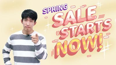 Cover art for TTMIK Spring Sale: Up to 30% Off For 2 Weeks