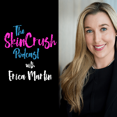 Welcome to The SkinCrush Podcast where we will explore the exciting and ever changing world of professional skincare and aesthetics!  Hosted by licensed aesthetician and educator, Erica Martin.  Each week we will share information, insights, and inspiration as we talk with industry professionals, insiders, and the skincare obsessed!  Join us for this exciting new podcast!