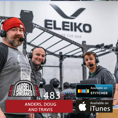 Cover art for How to Grow a Jacked Back: Hypertrophy Principles for Strong Back Muscles w/ Anders Varner, and Doug Larson, and Travis Mash - Barbell Shrugged  #483