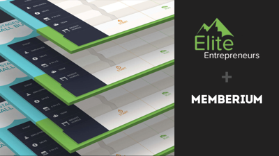 Cover art for Elite Entrepreneurs and an inside look at how they built their membership site