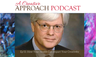 Cover art for 51: How Your Health Can Impact Your Creativity with David Cornish