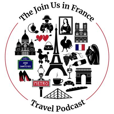 Are you getting ready for a trip to Paris? Provence? Normandy? On this podcast we have conversations about France: we share trip reports, chat with tour guides, share tips on  French culture, the basics of French history, explain how to be savvy traveler in France, and share our love of French food, wine and destinations in France.   And because this show has been around for a while, we also had time to share language tips, every-day life in France, and tips for those who are considering moving to France.   By listening to this show you will learn how to make great choices for your own trip to France no matter what part of France you plan to visit. We're also a great community for Francophiles who can't get enough of France and return year after year.