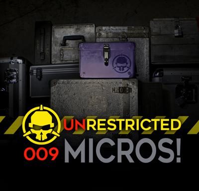 Cover art for Micros! (with Ummagawd and Martin White)