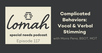 Cover art for #117 - Complicated Behaviors: Vocal & Verbal Stimming