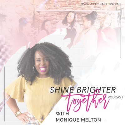 The Shine Brighter Together Podcast is a place where we share the challenges, complexities and sheer joy of building healthy relationships and doing the heart work for true diverse unity. You can expect to hear solo episodes by Monique Melton who is an author, speaker, relationship and diversity coach and creator of the Shine Brighter Together community. And guest episodes with people from different walks of life sharing diverse perspectives on relationships and diversity.