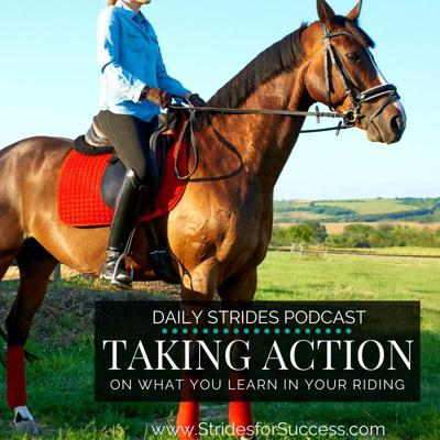 Cover art for 1123 Taking Action on What You Learn in Your Riding