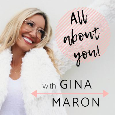 """Join Gina Maron weekly as she explores topics such as spirituality, sensuality, alternative medicine, energy healing, heart-centered discipline, and conscious parenting. in All About You, you'll discover just how these topics can apply to the goals you've established, your defined mission, and your life as a whole.  Gina will encourage you to recognize your path by creating a sense of accountability for your own happiness. Learn how to welcome opportunities with open arms and how to seize and control of your own destiny to truly live a life of purpose. In Gina's own words, """"Awareness and knowledge afford you the opportunity to make elevated choices which ultimately support our collective drive to RISE"""".  Step by step, we'll begin to unravel the keys, codes, and downloads that will enable you to engineer a life of bliss. Embrace and employ the mission of these conversations to see real positive change.  Keep up with Gina on Instagram @ginamaron and stay connected with her at ginamaron.com"""